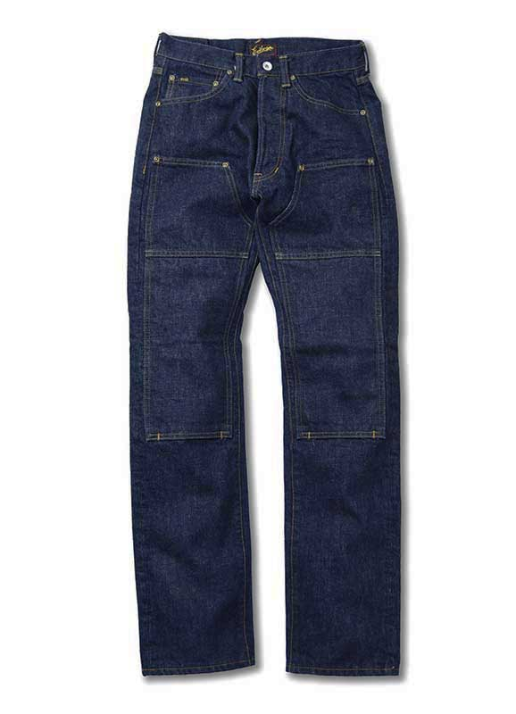 EVILACT EA-J08 16oz W Knee Denim Pants