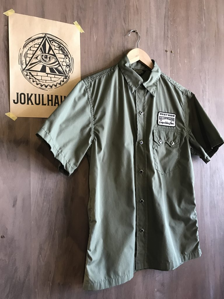 17SS SNAP WORK S/S SHIRTS OLIVE