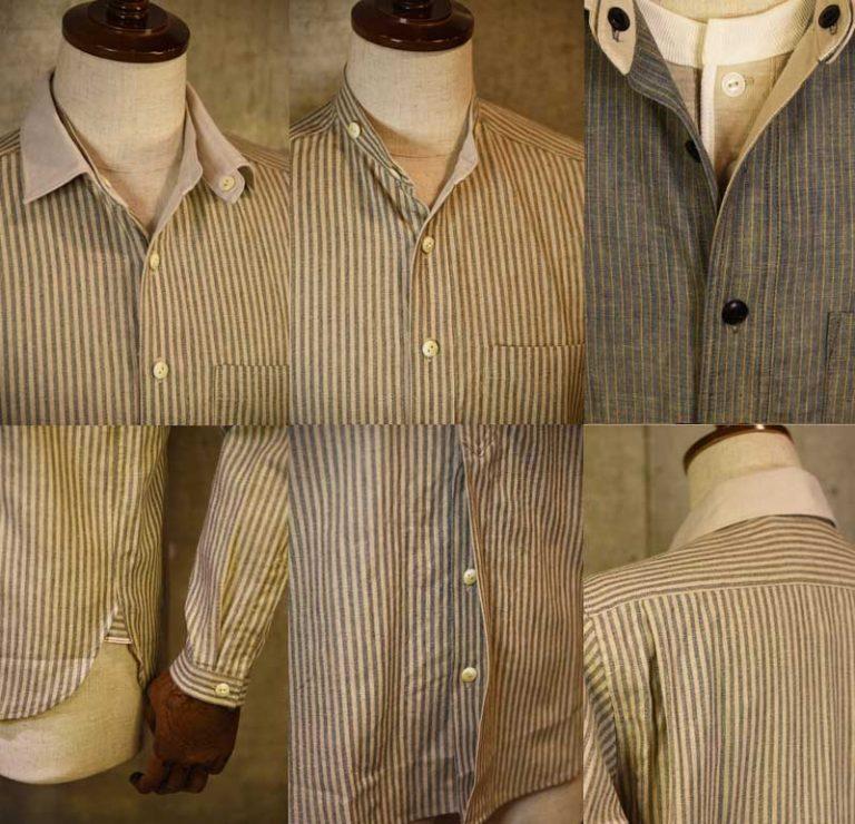EVILACT Change Collar Shirt's