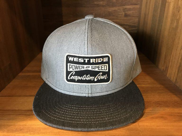 17SS TWILL CAP4 GRAY/CHACOAL