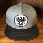 17SS TWILL CAP3 GRAY/CHACOAL