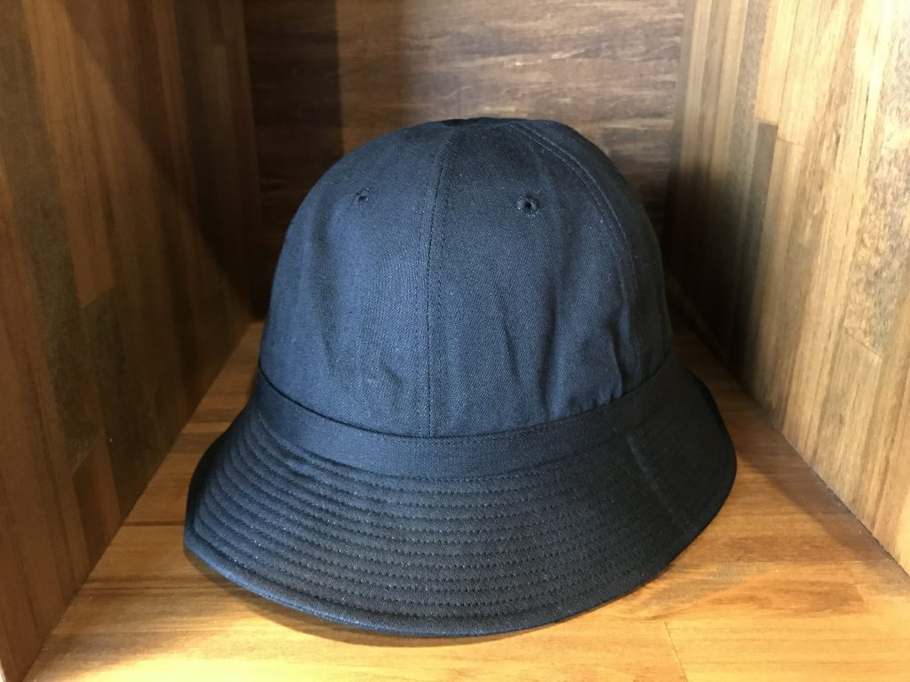 17SS ARMY HAT BLK DENIM