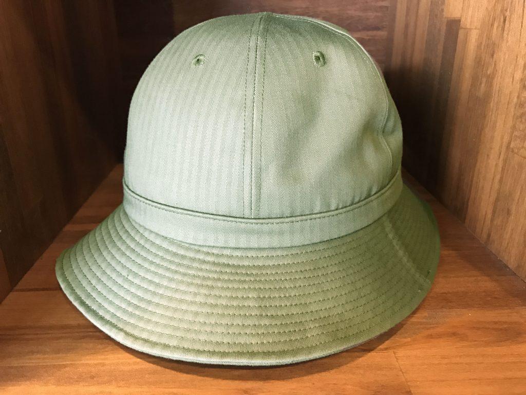 17SS ARMY HAT HERRINGBONE OLIVE