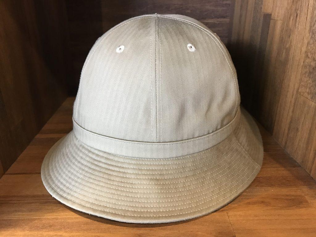 17SS ARMY HAT HERRINGBONE KHAKI