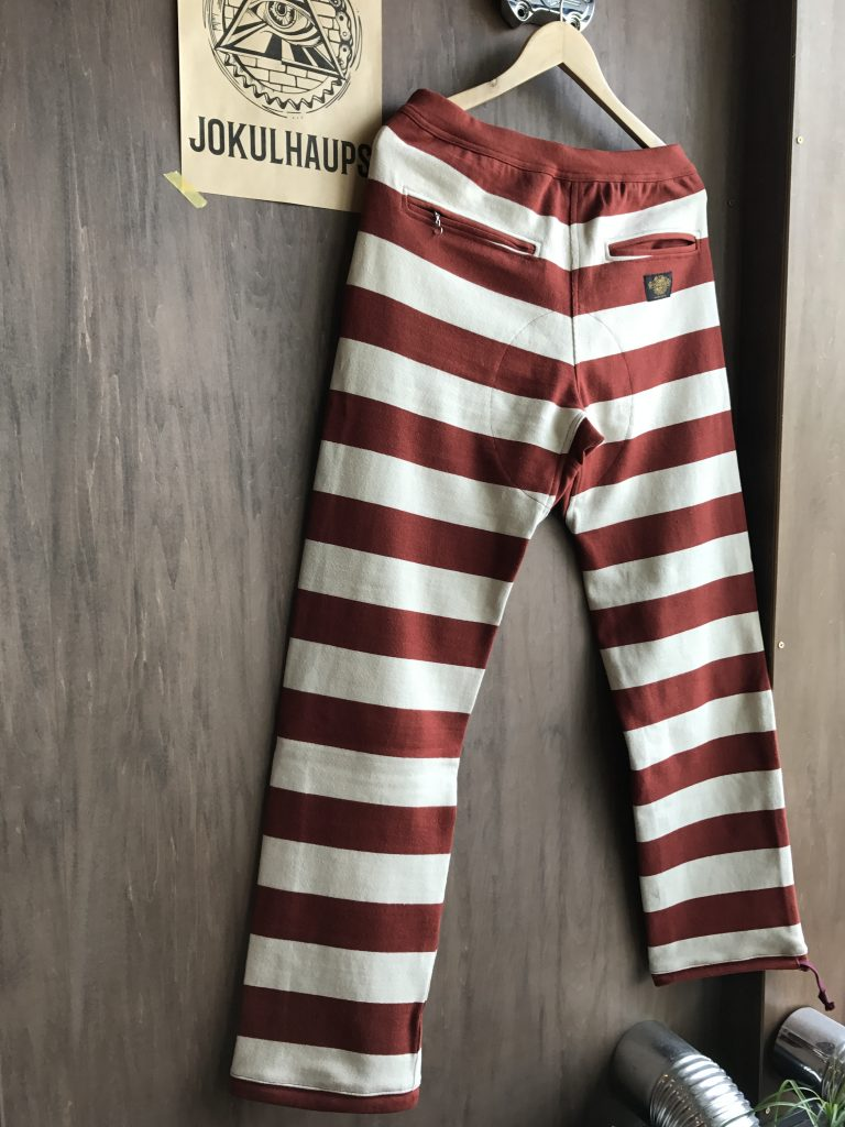 BORDER LONG PANTS BUG/BEG
