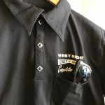 17SS SNAP POLO SHIRTS BLK