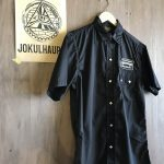 17SS SNAP WORK S/S SHIRTS BLACK